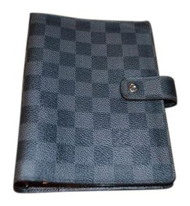 Louis Vuitton LOUIS VUITTON Agenda MM Damier Graphite EXCELLENT CONDITION