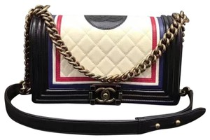 Chanel Crest Medium Boy Shoulder Bag