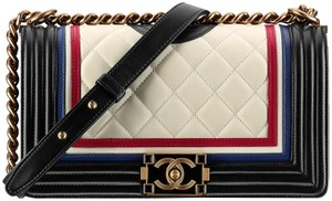 Chanel Crest Cruise Medium Boy Shoulder Bag