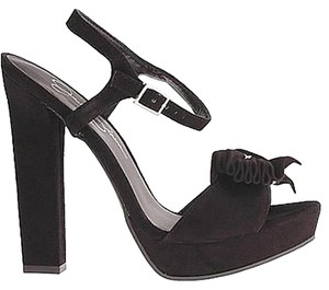 Jessica Simpson Platform Pleated black Sandals