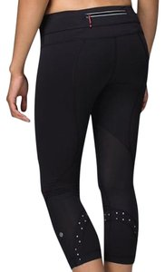 Lululemon Black/Polka Dots Leggings