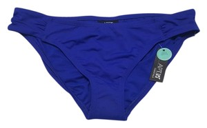 Apt. 9 Women's Apt. 9 Solid Shirred-Side Swim Bottoms Royal Size M NWT