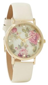 Charming Charlie Floral Watch