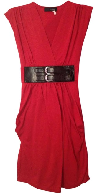 Hypnotik short dress Red on Tradesy