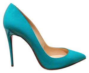 Christian Louboutin Blue Pacific Pumps