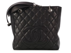 Chanel Ch.k1010.04 Quilted Leather Tote