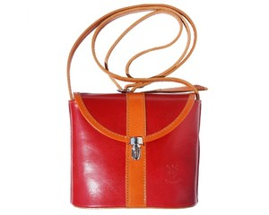 Florence Leather Leather Italian Small Cross Body Bag