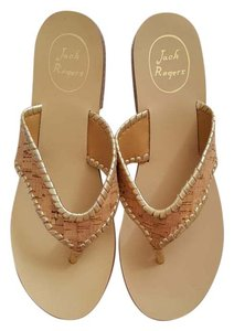 Jack Rogers Cork Gold Sandal Gold/Cork Sandals