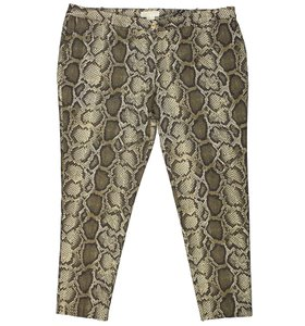 Michael Kors Straight Pants Multi Color