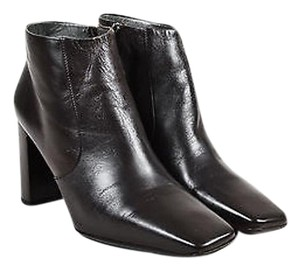 Jil Sander Leather Brown Boots