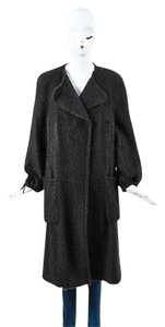 Akris Mohair Wool Blend Coat