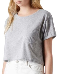 Topshop T Shirt Gray