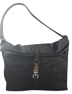 Gucci Hobo Envelope Top Dressy Or Casual Jackie Chrome Hardware Shoulder Bag