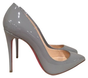 Christian Louboutin Pigalle Patent Stiletto grey Pumps