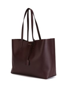 Saint Laurent Shopping Pouch Neverfull Tote in burgundy