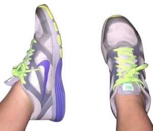 Nike Tennis Sneakers Purple/Green/Grey Athletic