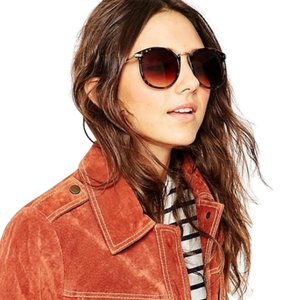 ASOS NEW ASOS Tortoise Brown Round Sunglasses Glasses