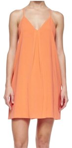 Alice + Olivia short dress Coral on Tradesy