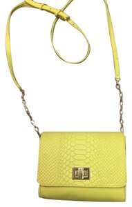 GiGi New York Yellow Cross Body Bag