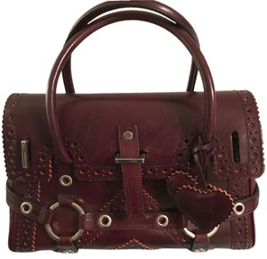 Luella Satchel in Burgundy