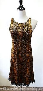 Betsey Johnson Goldblack Dress