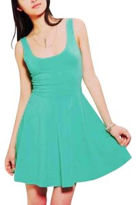 Urban Outfitters short dress Teal on Tradesy