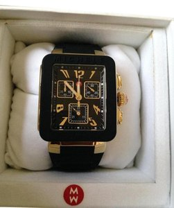 Michele NWT Park Jelly Bean Gold Black watch $400