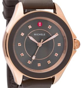 Michele Nwt michele cape large case Swapable strap watch