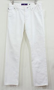 Other Denim By Victoria Beckham White Denim Star Pocket 27 Straight Leg Jeans