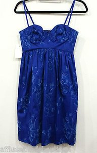 Rebecca Taylor short dress Blue Cobalt on Tradesy