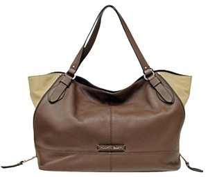 Franco Sarto Tote in Walnut/ Stone