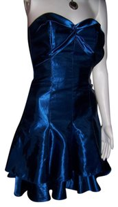 Jessica McClintock short dress Royal Blue Wedding Holiday Homecoming on Tradesy