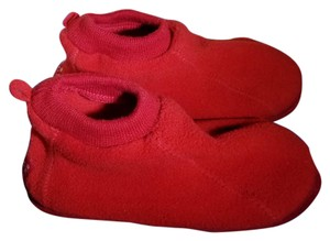 The Children's Place Bootie Winter Children Rubber Red Flats