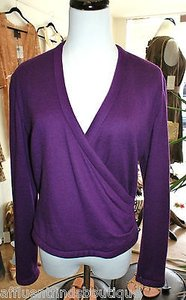 Peggy Jennings Cashmere Wrap Sweater