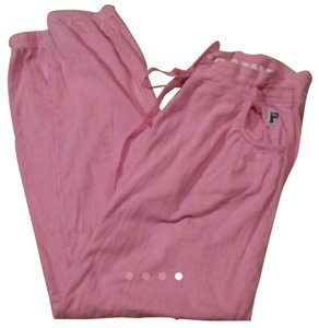 Victoria's Secret Athletic Pants pink