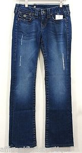 True Religion Disco Becky Straight Leg Jeans