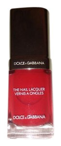 Dolce&Gabbana Authentic D&G red nail polish