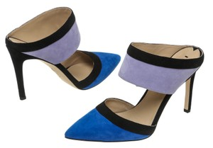 Via Spiga Blue/Multicolor Mules