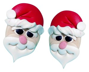 Artistry Santa Claus earrings