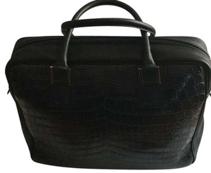 Fendi Unique Crocodile Exquisite Elegant Laptop Bag