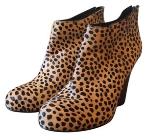 DKNY leopard Wedges
