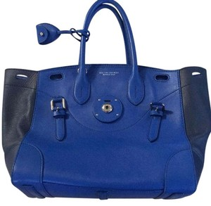 Ralph Lauren Collection Satchel in Blue