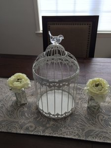Card Table Birdcage