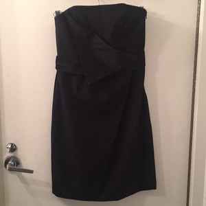 Black Halo Lbd Little Satin Dress