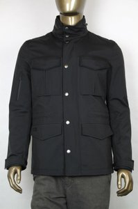 Gucci Men's Black Jacket With Detachable Lining And Hood 46/us36 347494 1000