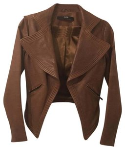 Cut25 Brown Leather Jacket