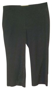 Old Navy Career Professional Stretch Capri/Cropped Pants Black