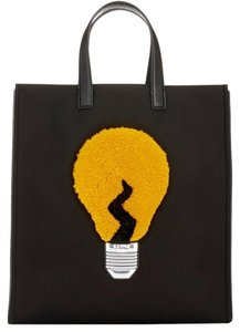 Fendi Tote in Black/Yellow