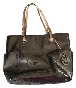 Michael Kors Tote in chrome