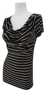 Bailey 44 Striped T Shirt Black